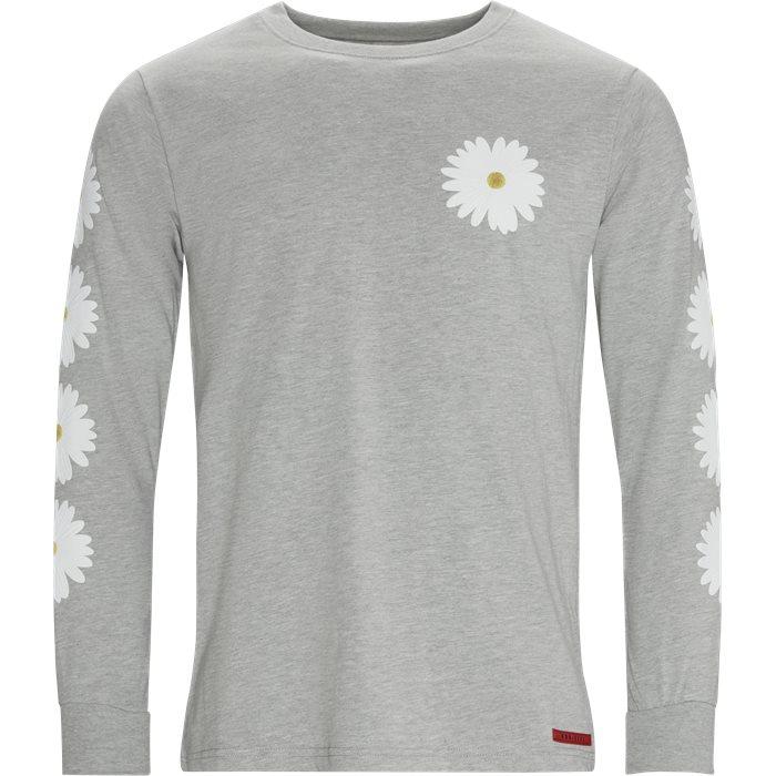 Denali LS Tee - T-shirts - Regular - Grey